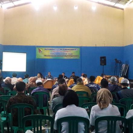 Musyawarah Perencanaan Pembangunan Desa (MusrenbangDes) TA. 2020