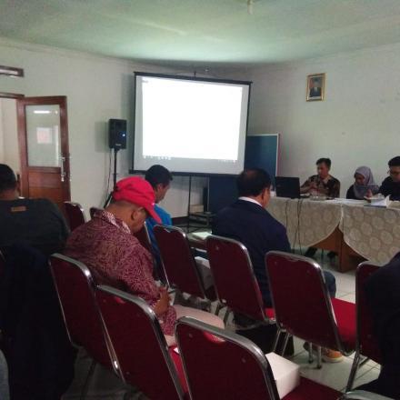 Rapat Pembahasan Rancangan Peraturan Desa (PerDes) Tentang Pemilihan Kepala Desa dan PerDes Tentang