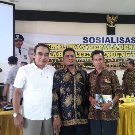 Sosialisasi Pemilihan Kepala Desa Serentak Tahun 2019