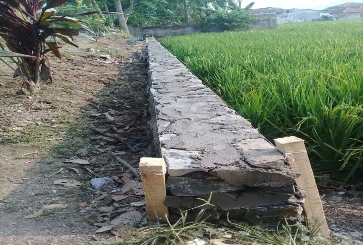 Pembangunan dana desa tahun anggaran 2018